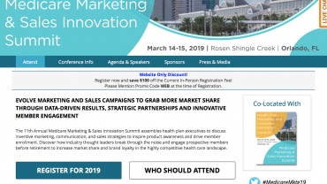 Medicare Marketing & Sales Innovation Summit